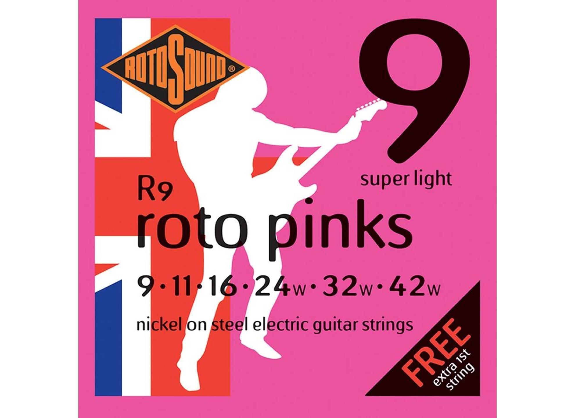 Roto Pinks Nickel 9-42