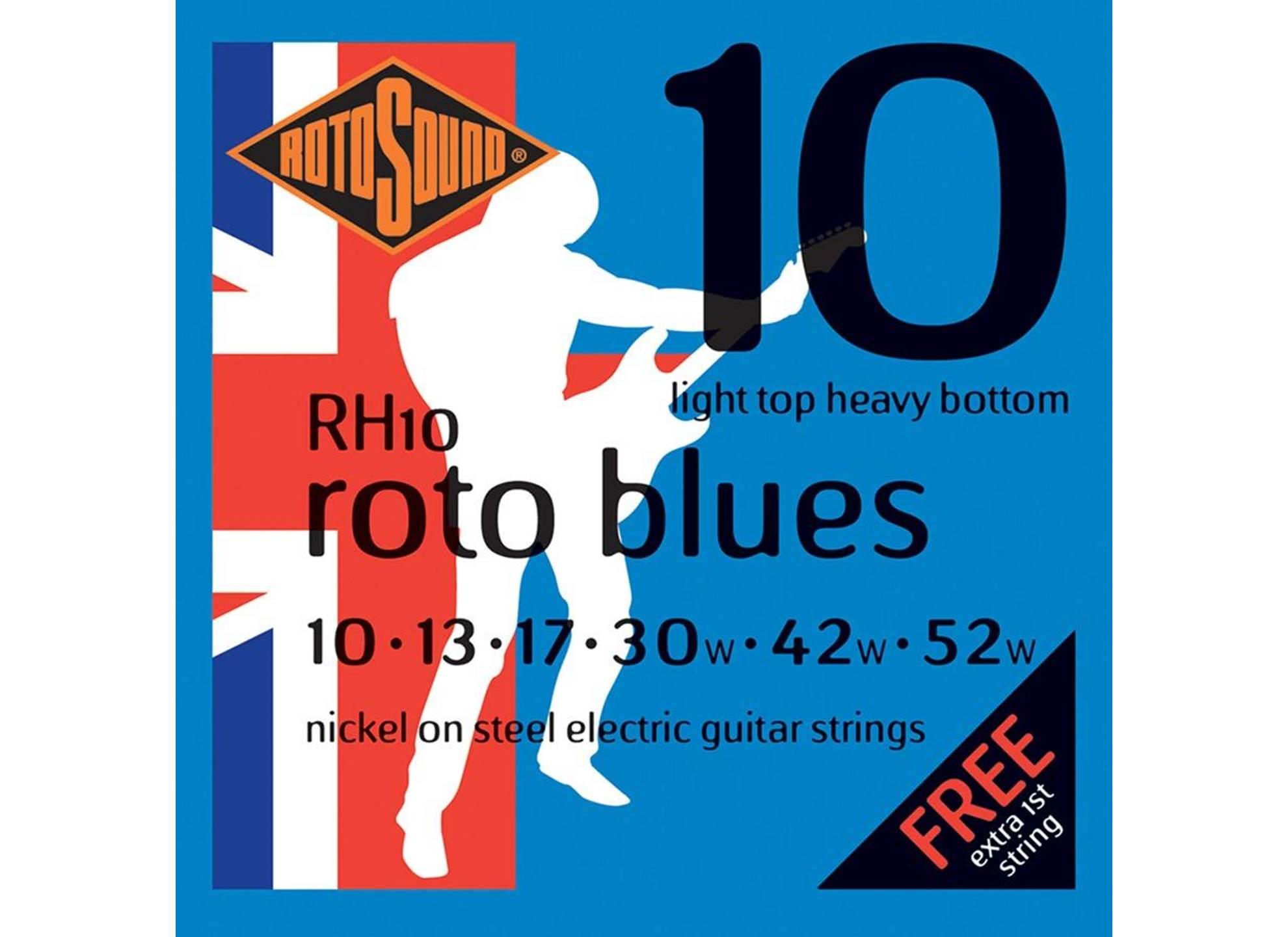 Roto Blues-Light Top/Heavy Bottom Nickel 10-52