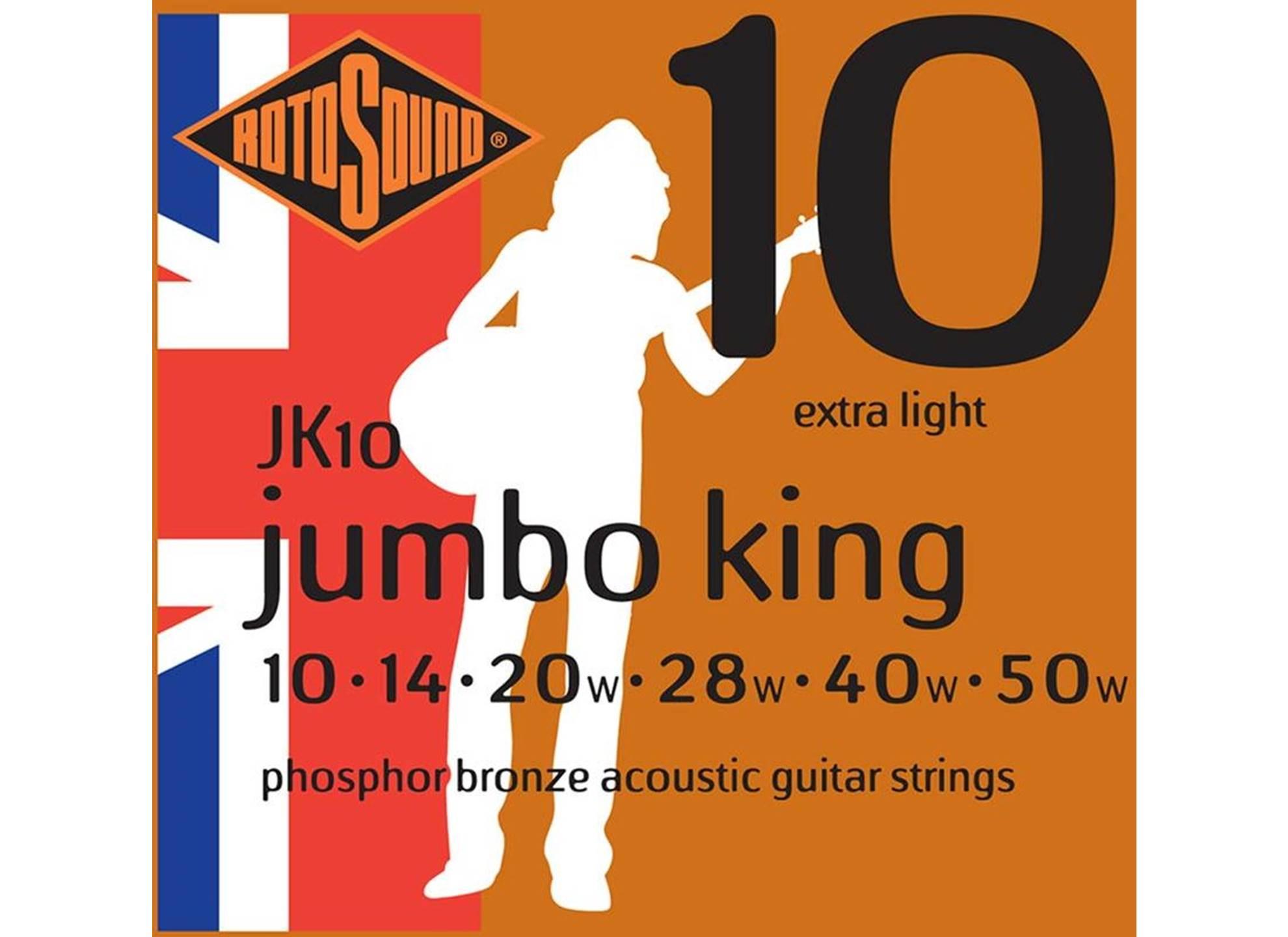 Jumbo King, Phosphor Bronze 10-50