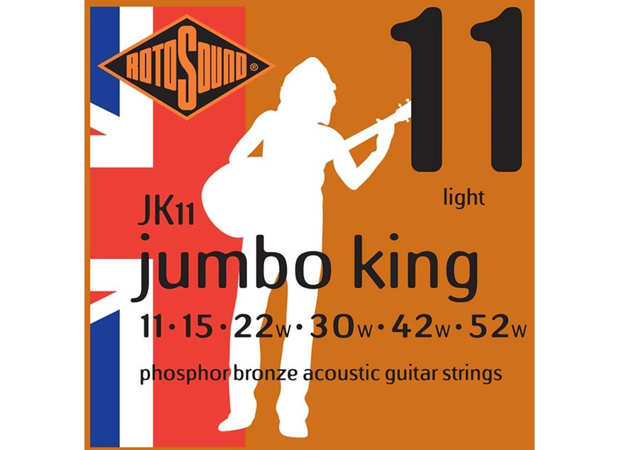 Jumbo King, Phosphor Bronze 11-52