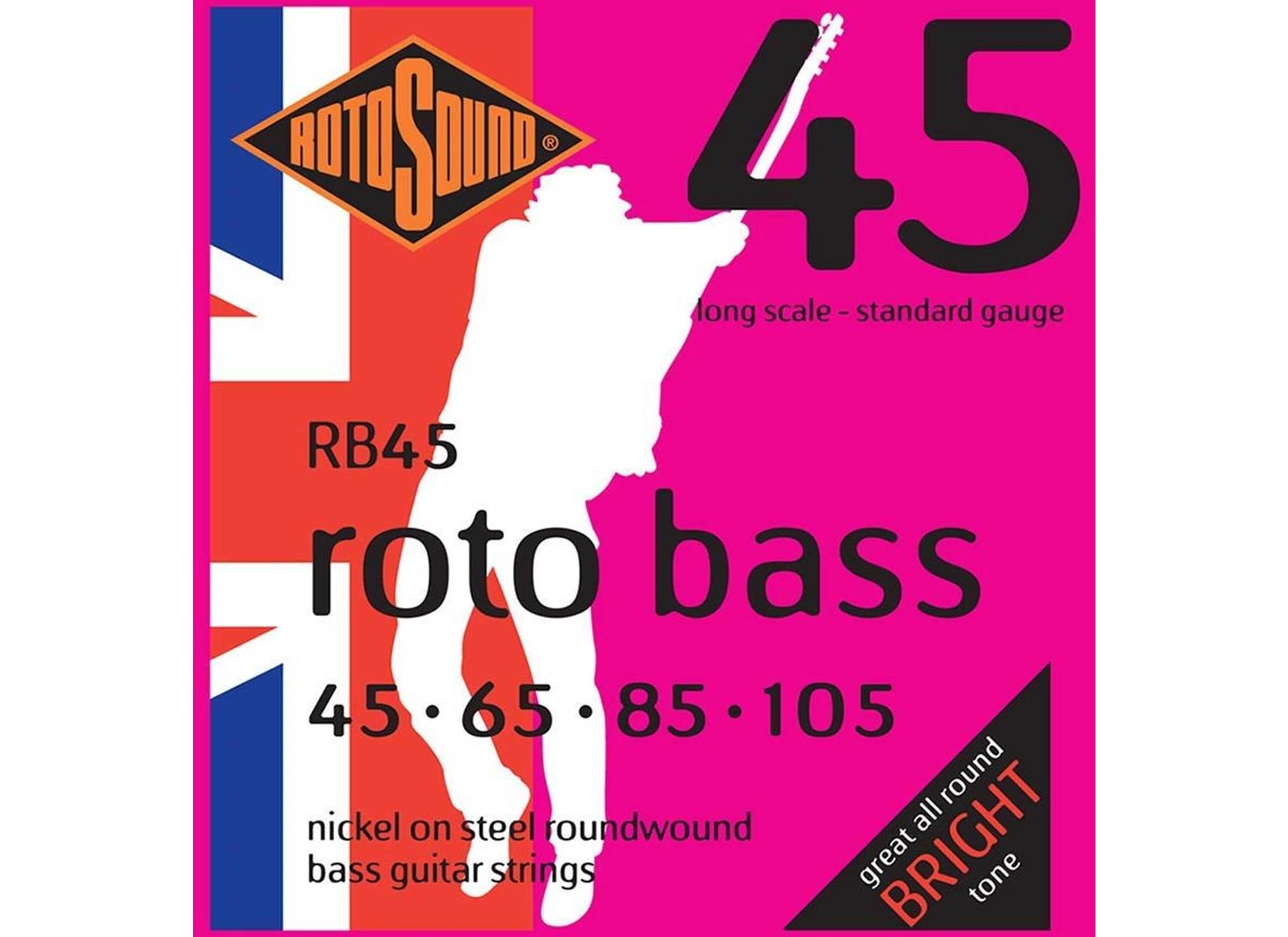 Roto Bass, Nickel Roundwound, 45-105