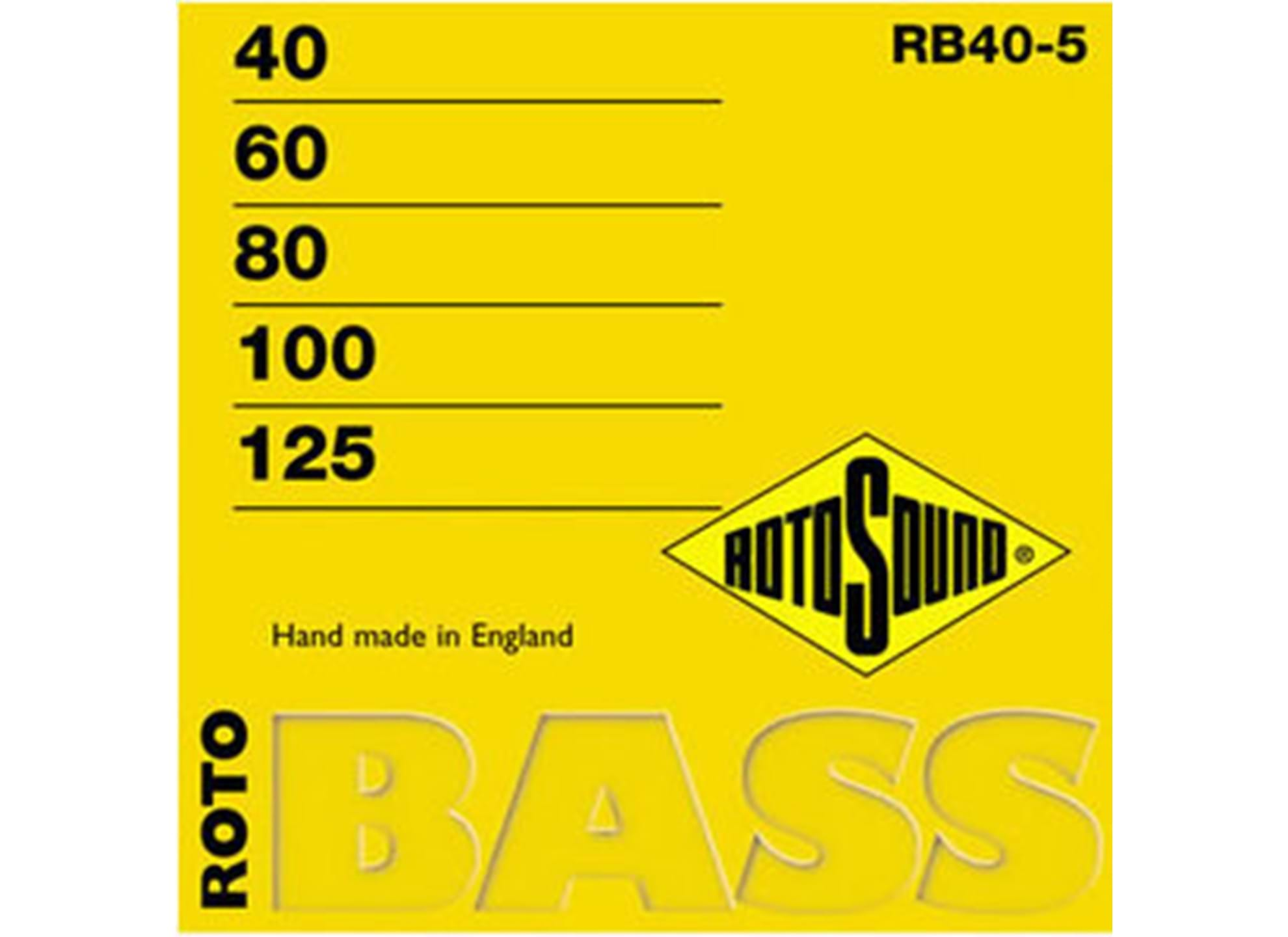 Roto Bass, Nickel Roundwound, 40-100