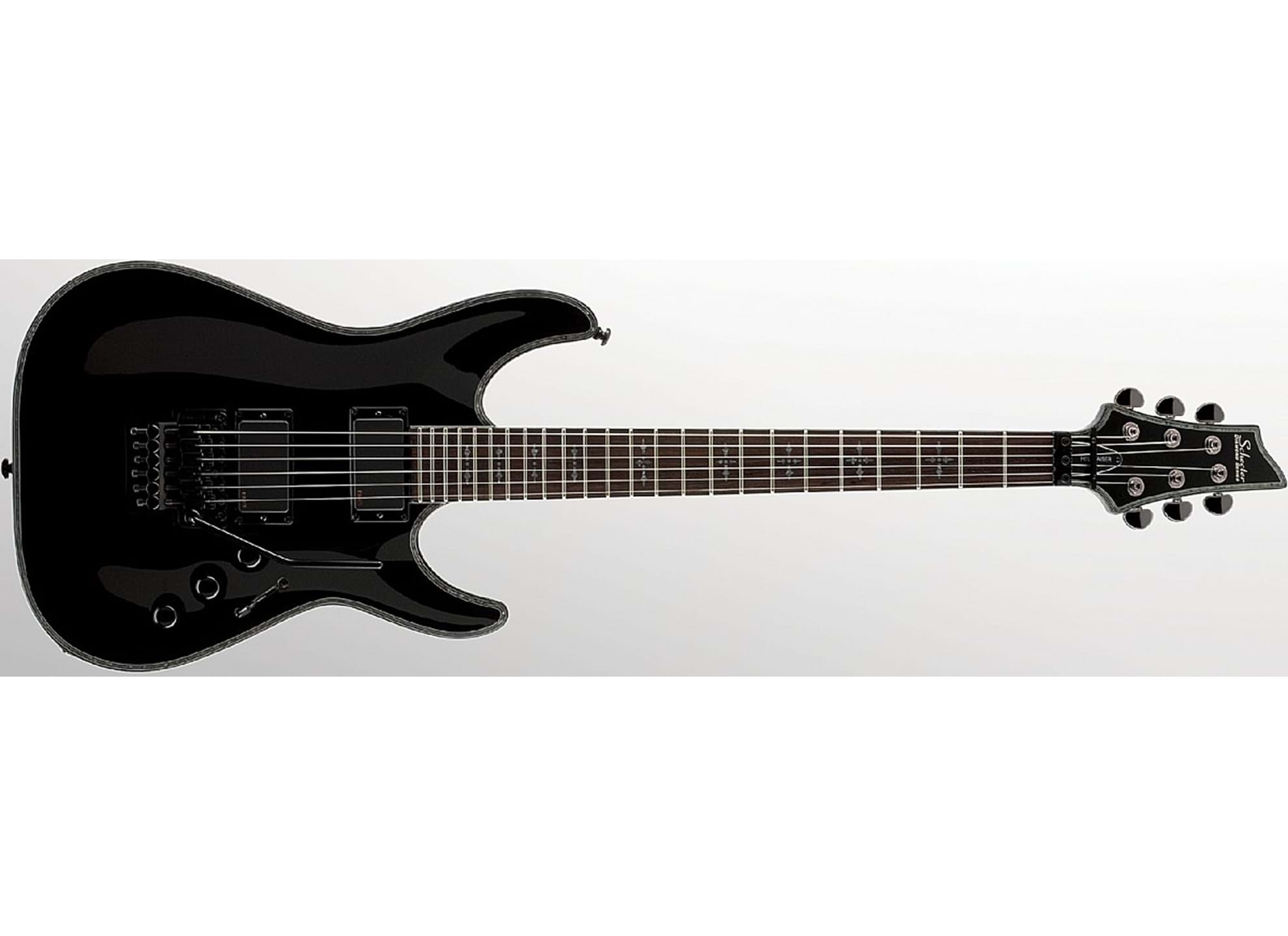 Hellraiser C1 Floyd Rose Gloss Black