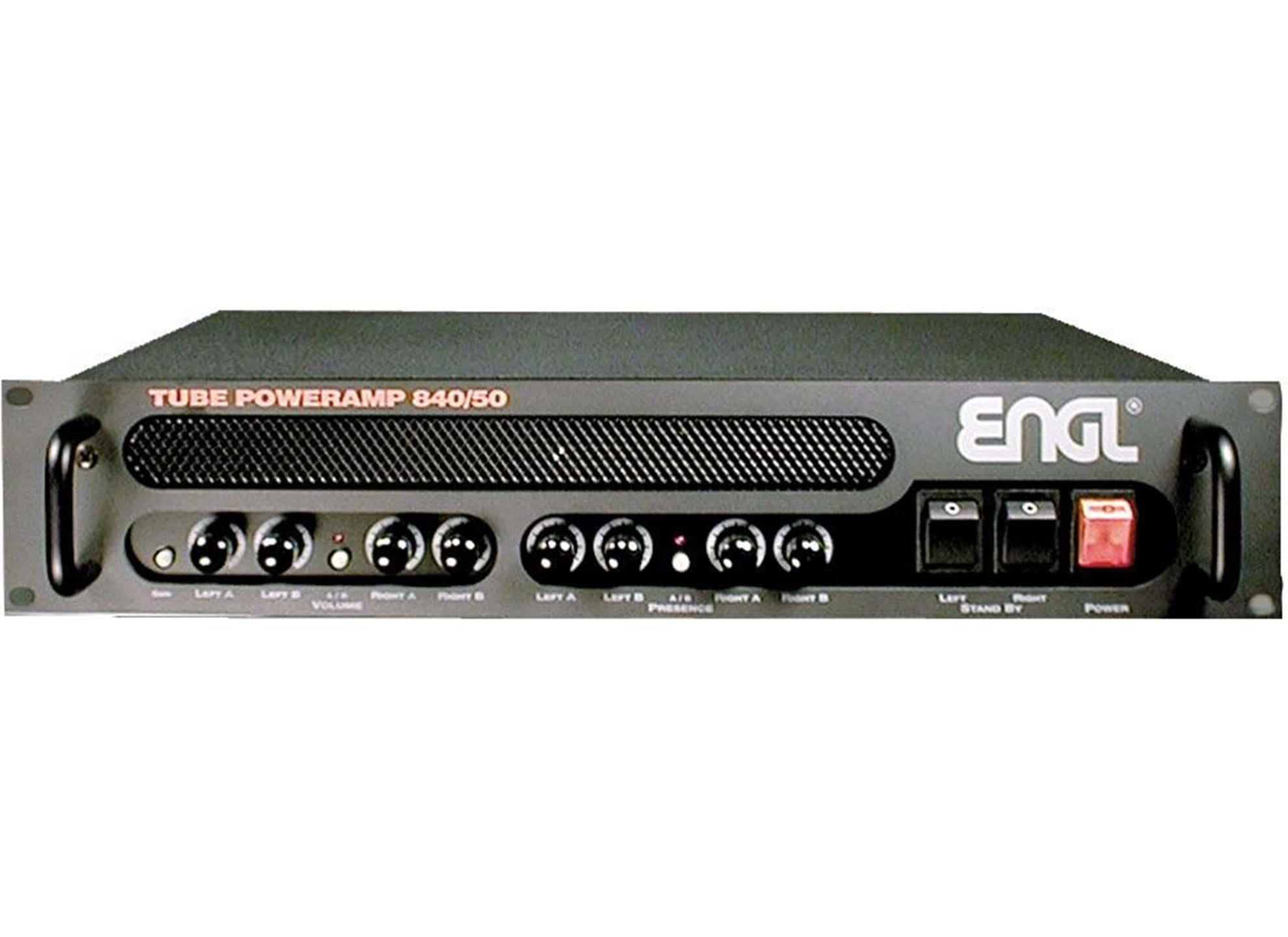 E-840/50 Tube Poweramp