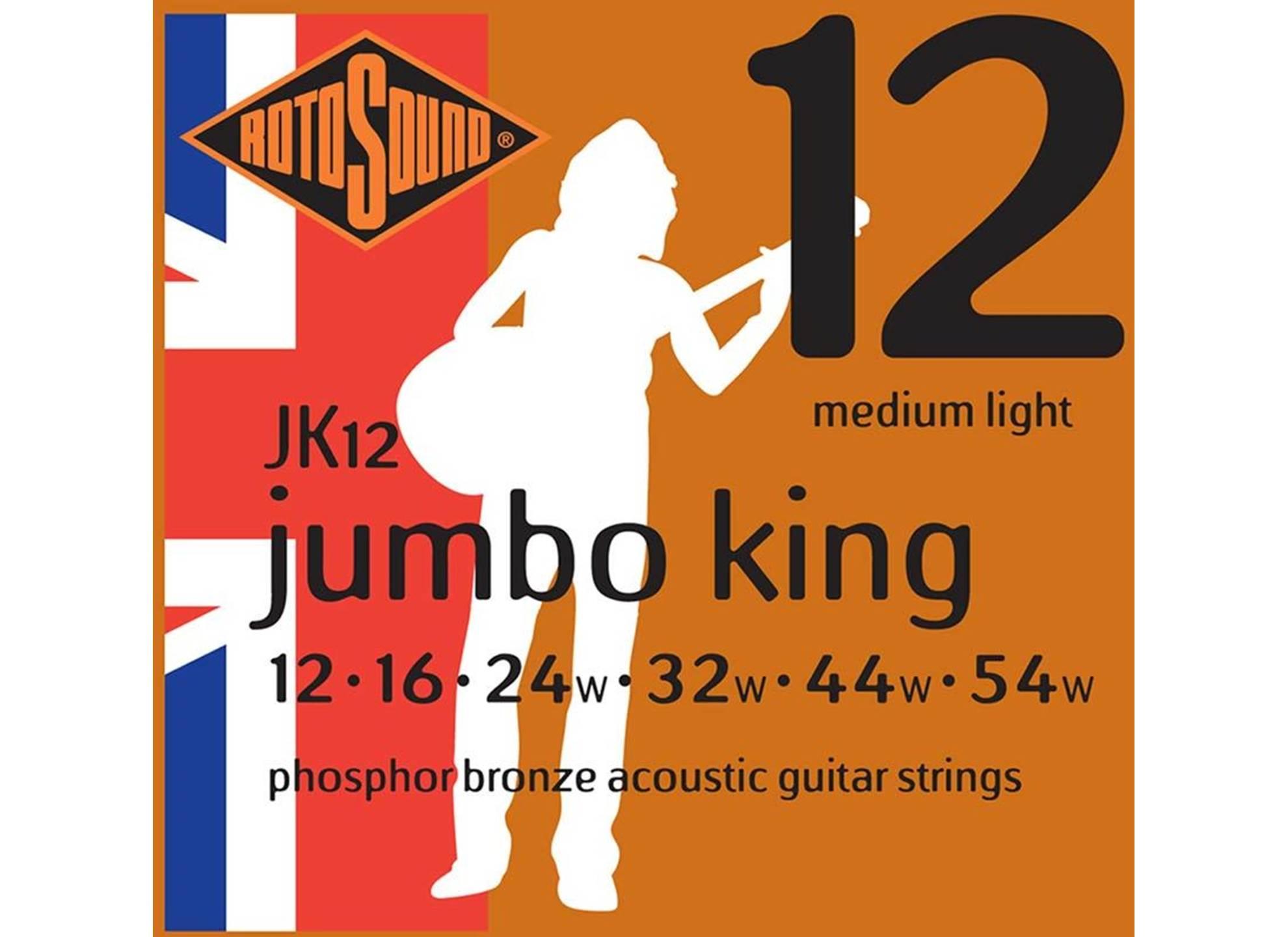 Jumbo King, Phosphor Bronze 12-54