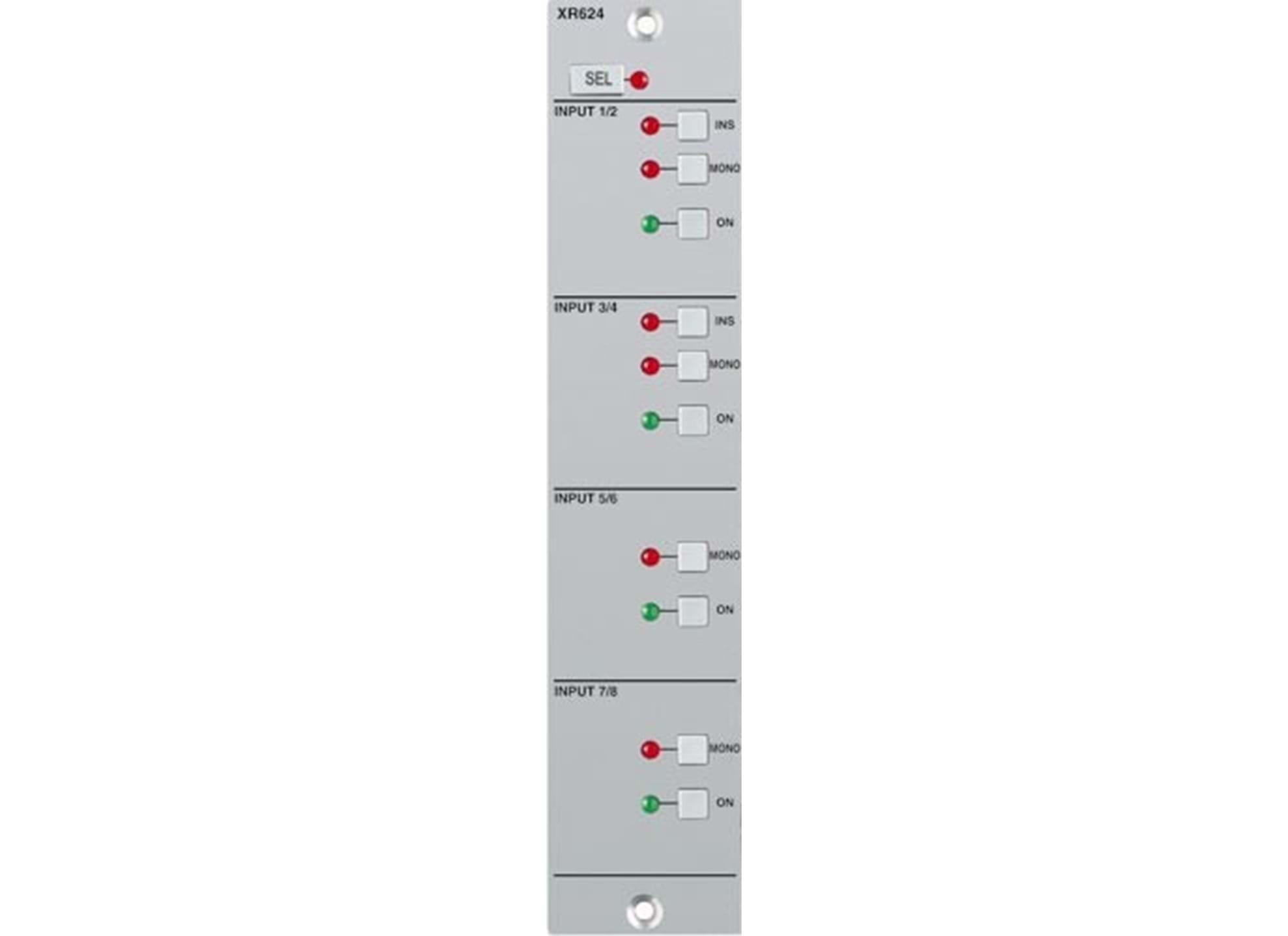 X-Rack 8 Line input Modul