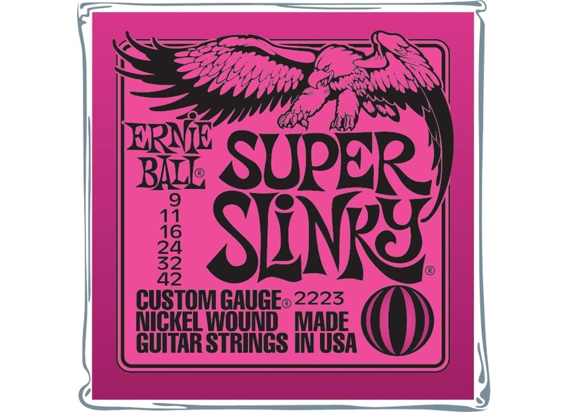 009-042 Super Slinky Nickel Wound 2223