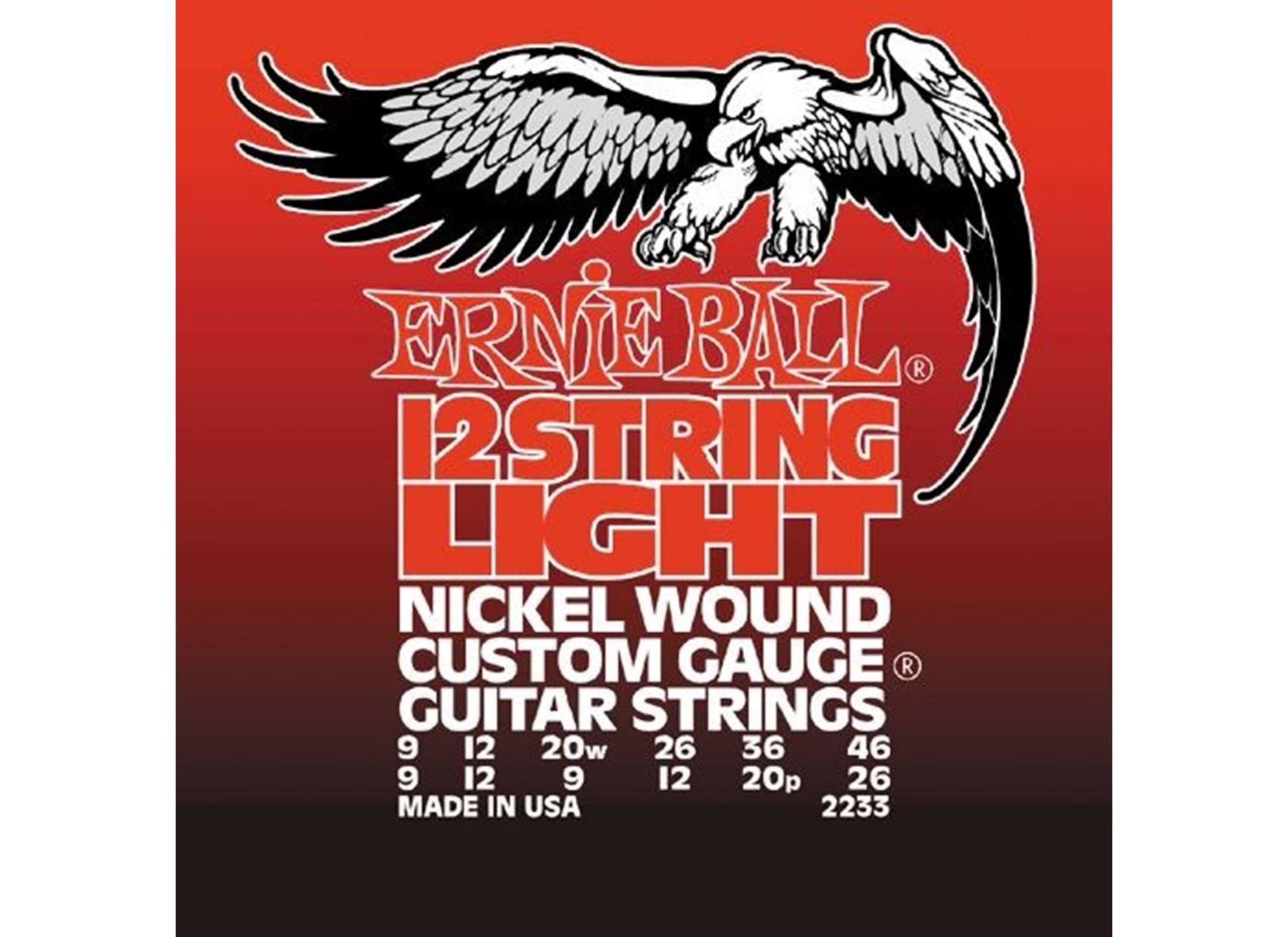 009-046 Light 12-string Nickel Wound 2233