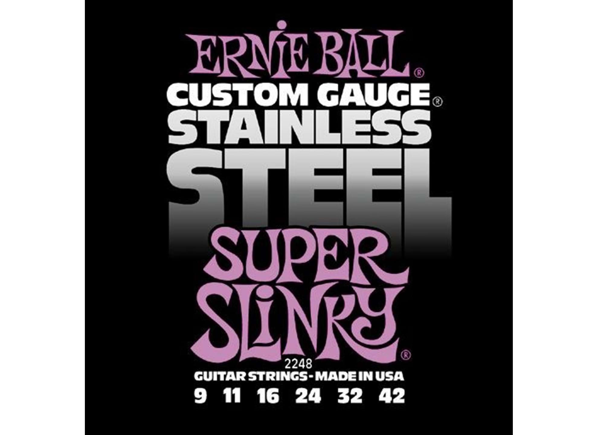 009-042 Super Slinky Stainless Steel 2248
