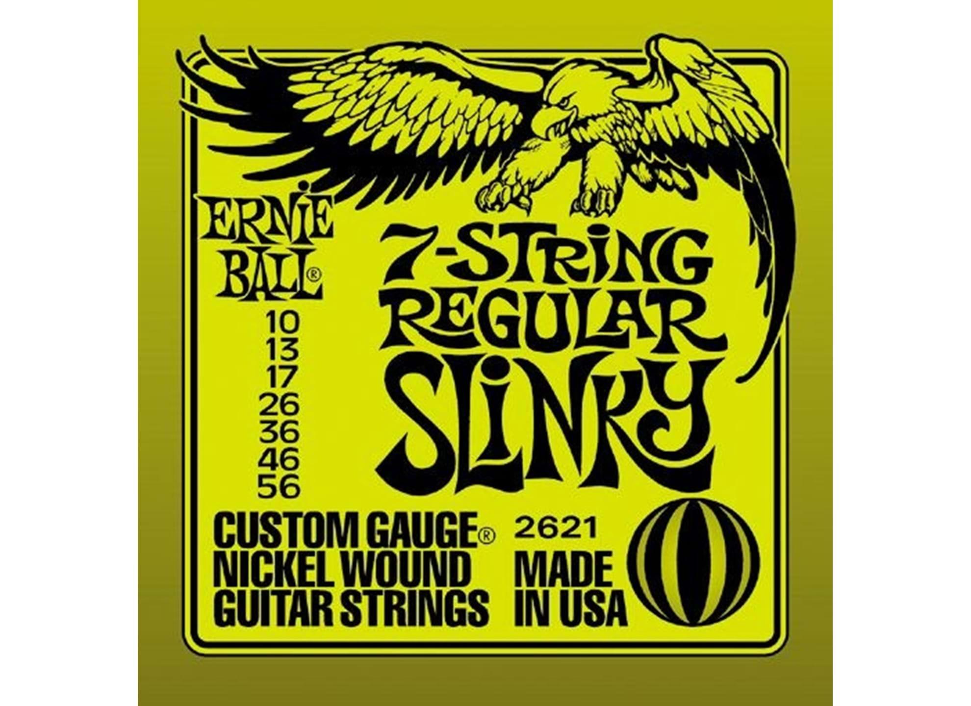 010-056 Regular Slinky 7-string 2621