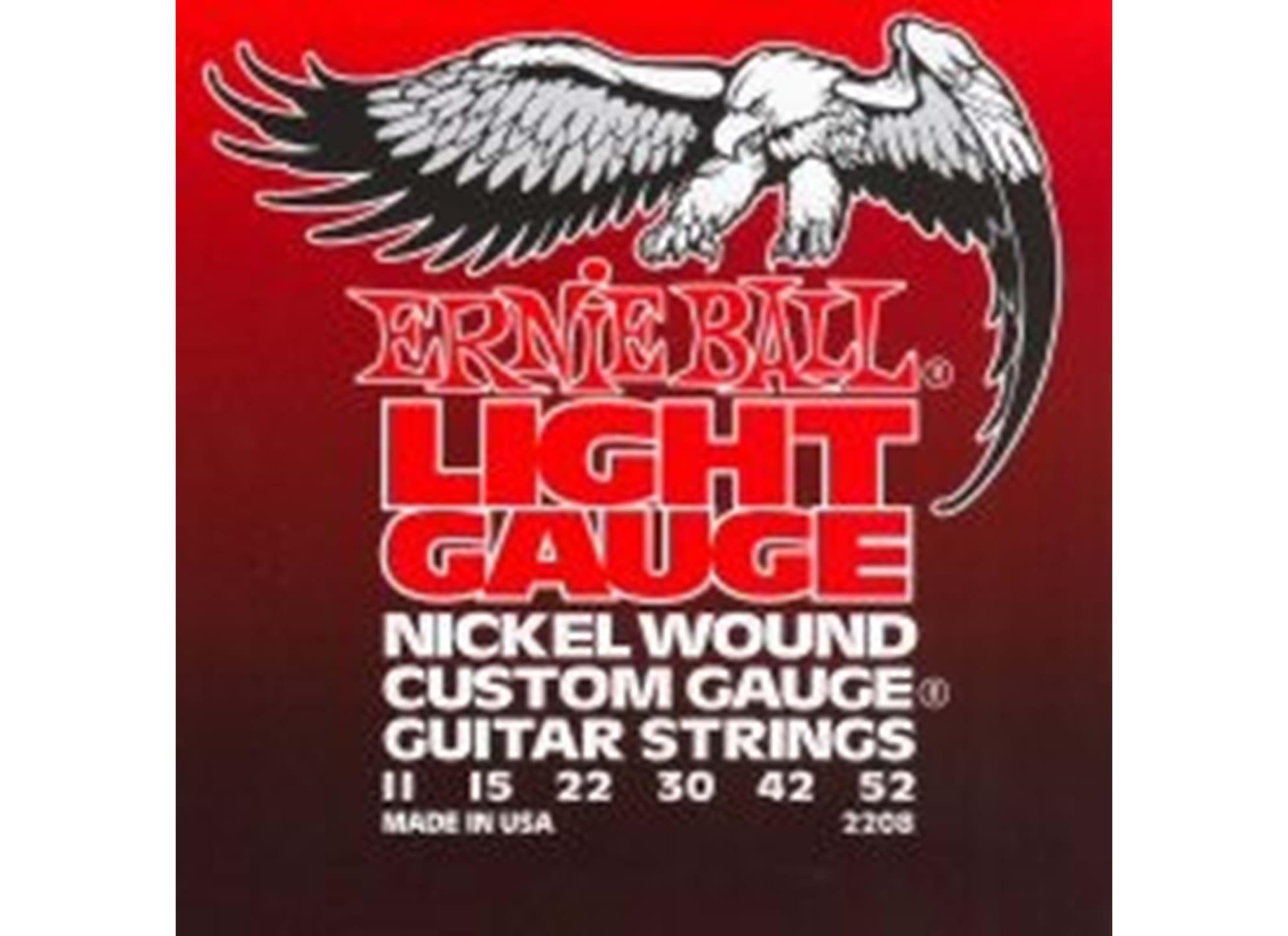 011-052 Light Nickel Wound 2208