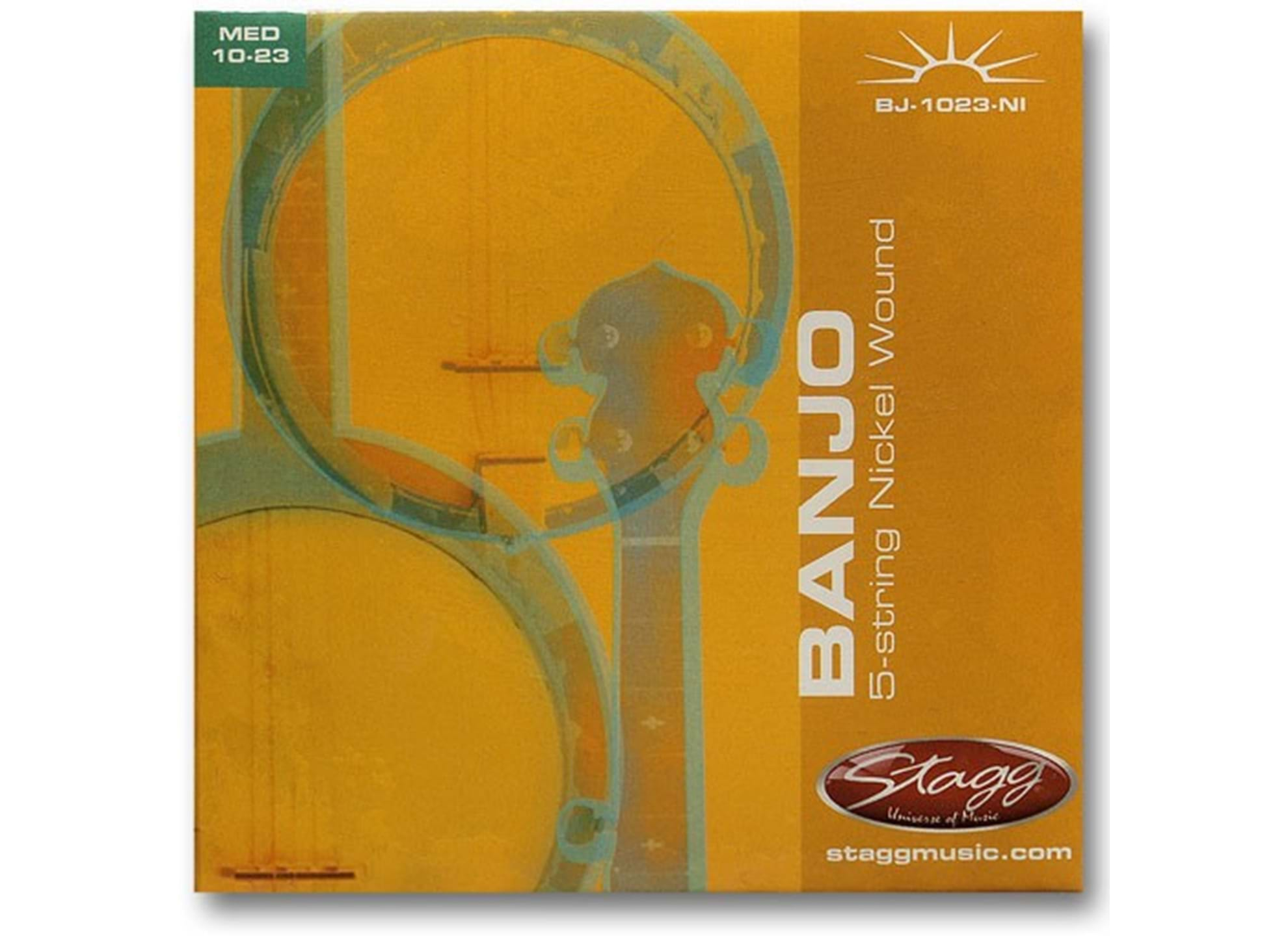 Banjo 5-Str Set/Nickel/Med Lt