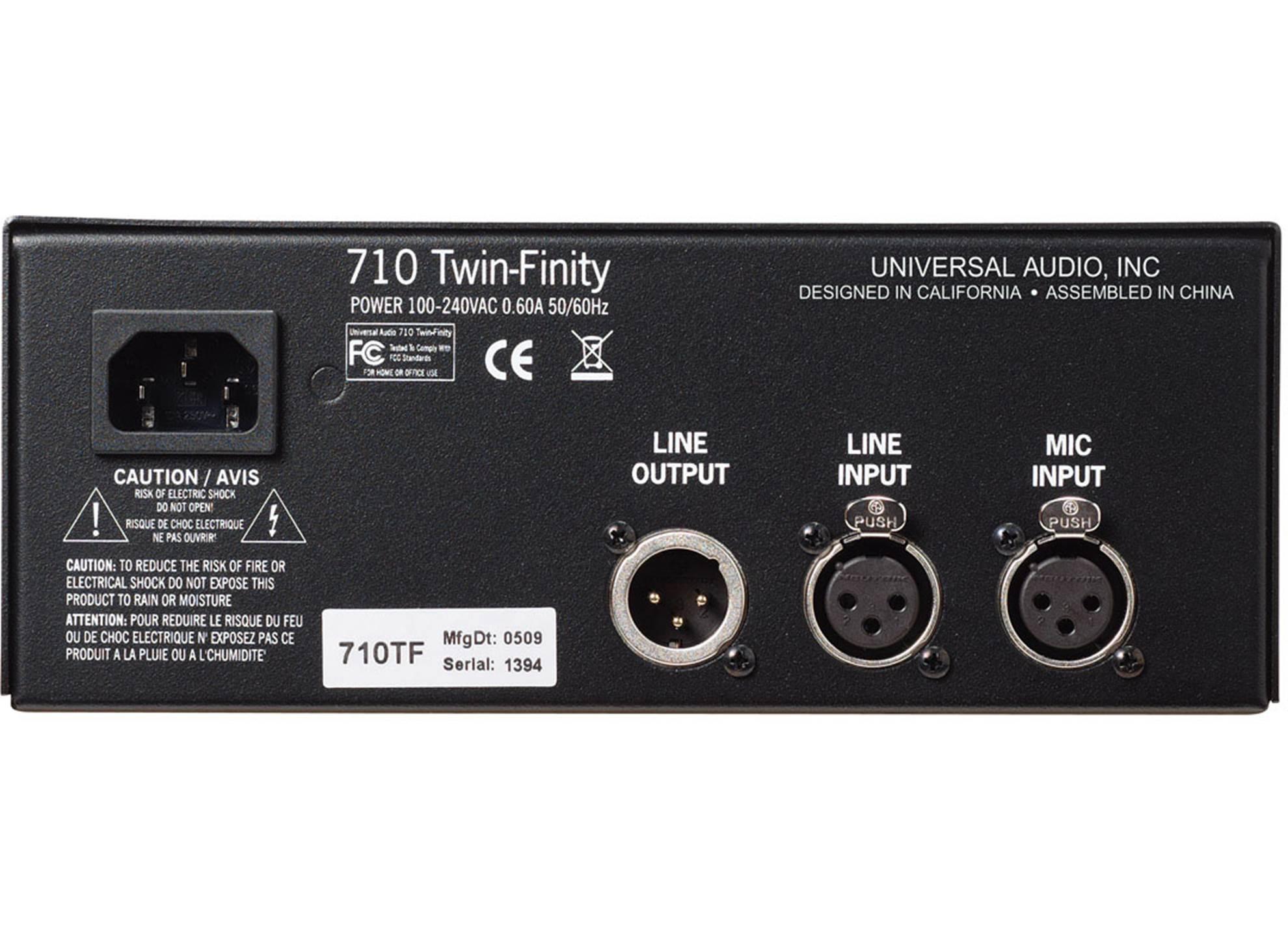 710 Twin-Finity