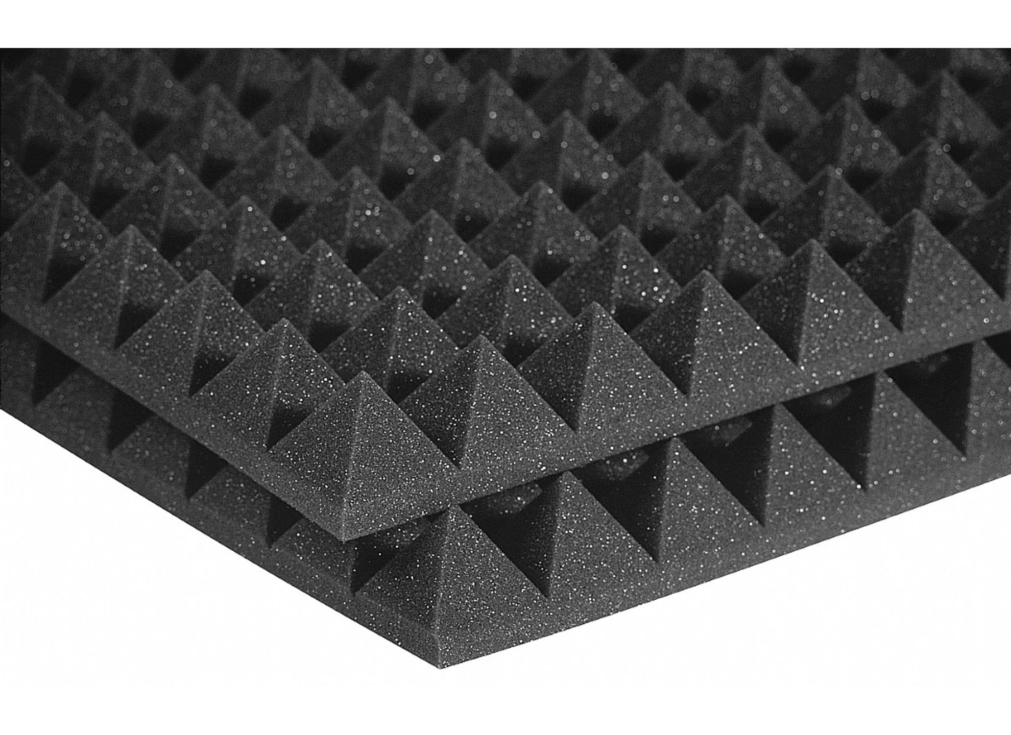 Studiofoam Pyramids Charcoal 2-tum halvskiva