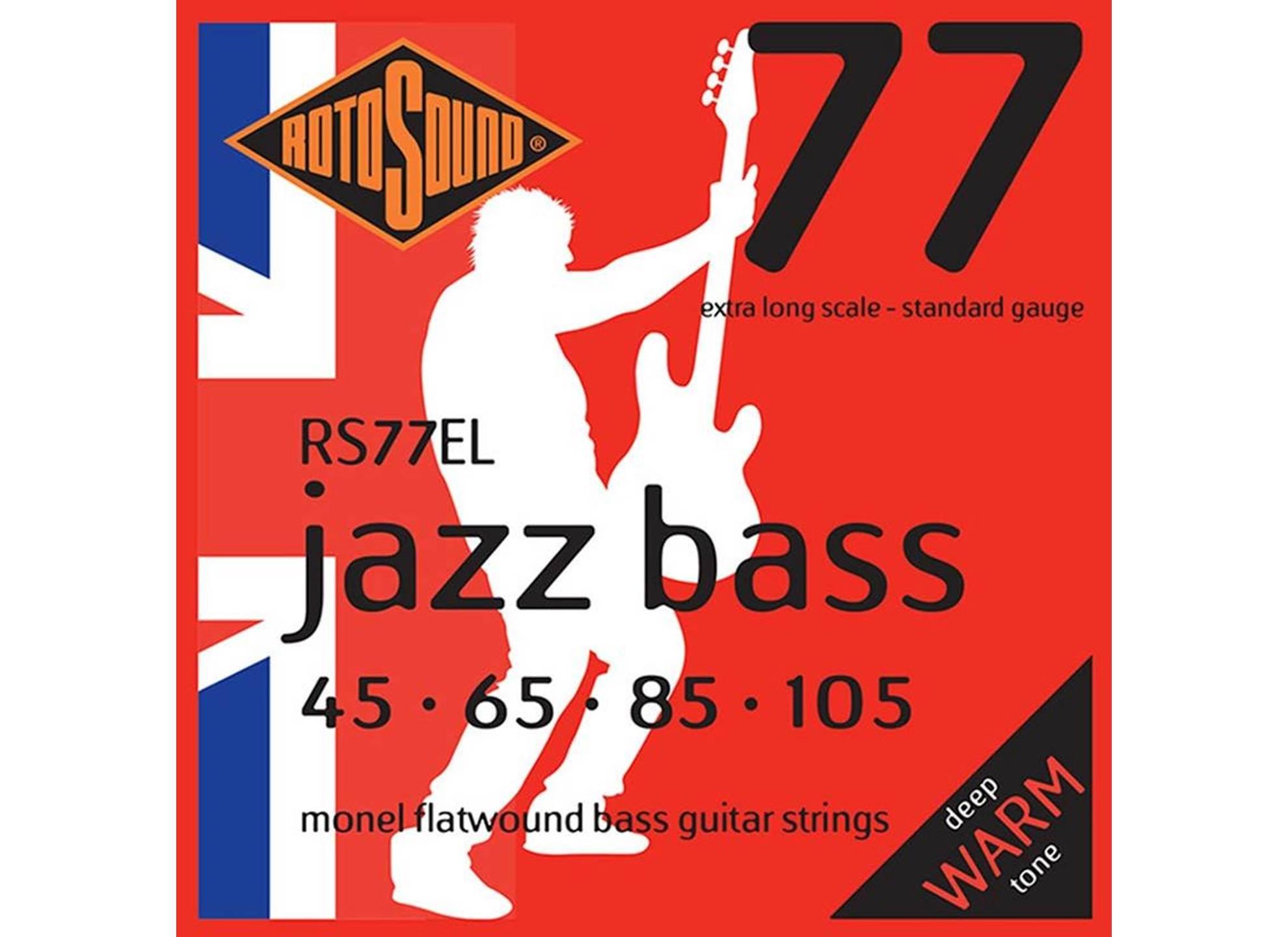 Jazz Bass 77EL X-Long 45-105