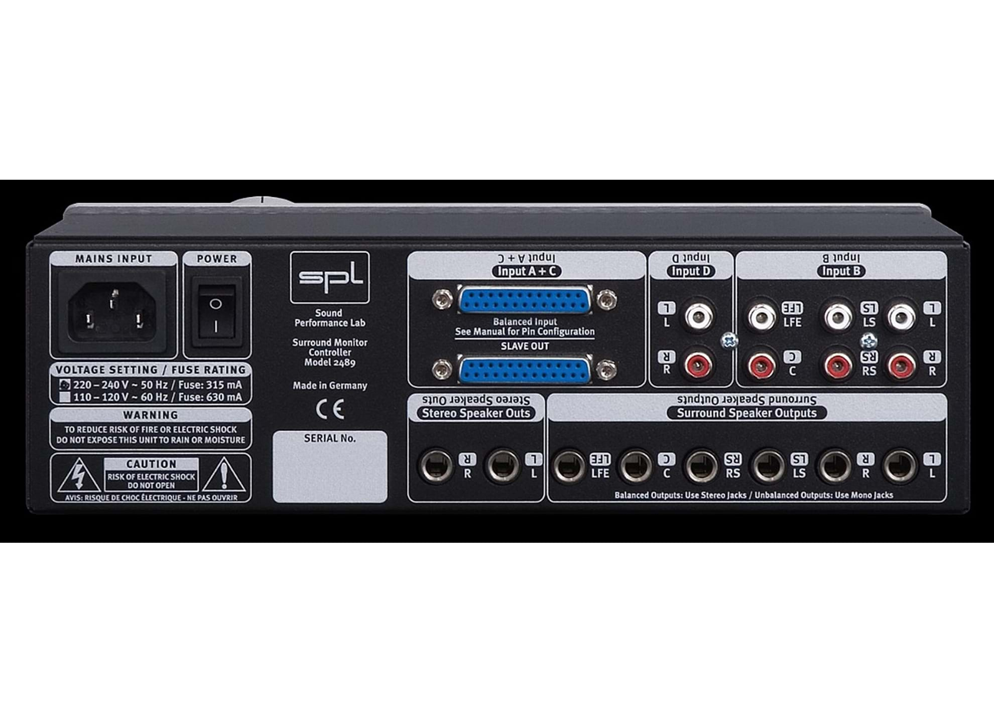 SMC 2489 - Surround Monitor Controller