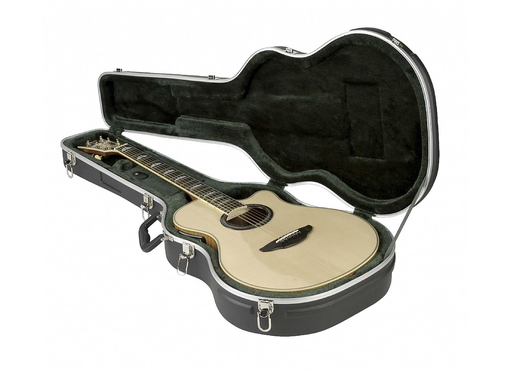 3 - Gitarrcase, akustisk gitarr - tunn kropp