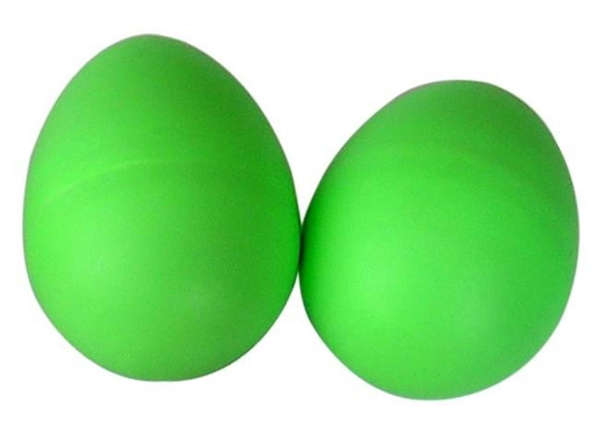Egg shakers, 2-pack, grön