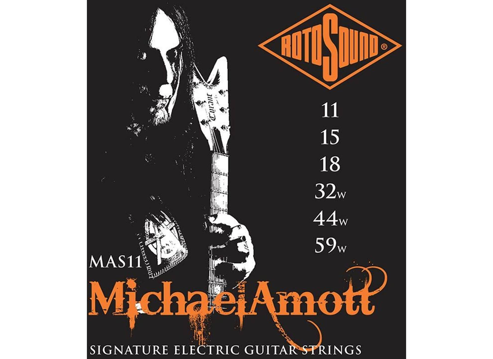 Michael Amott Signature, 11-59