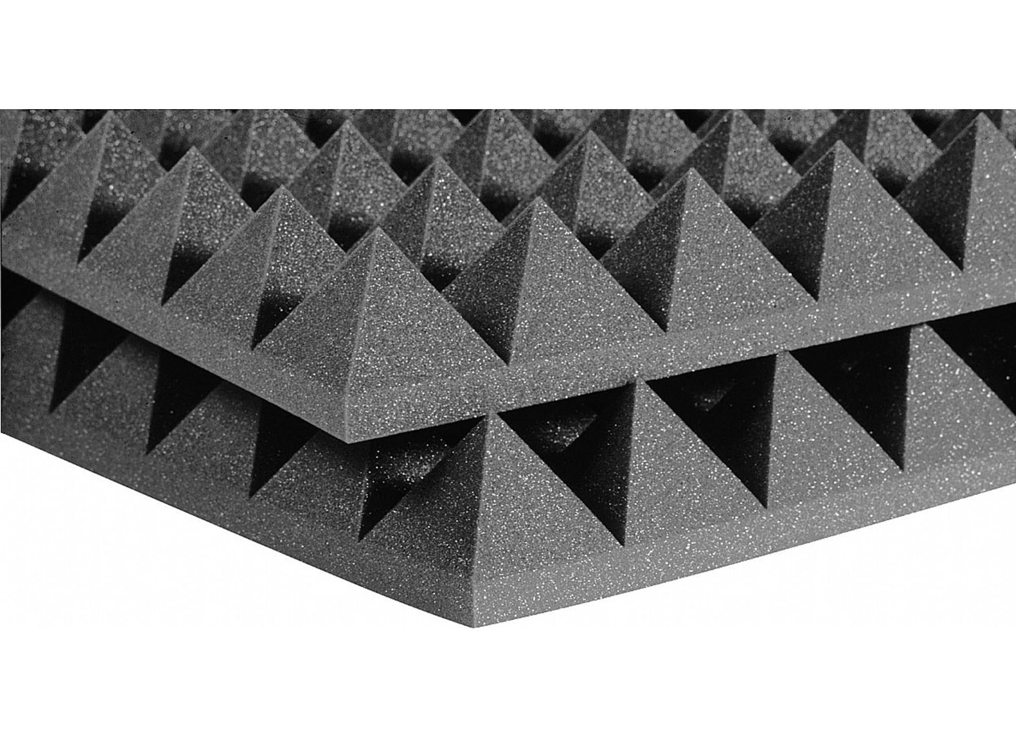 Studiofoam Pyramids Charcoal 4-tum halvskiva