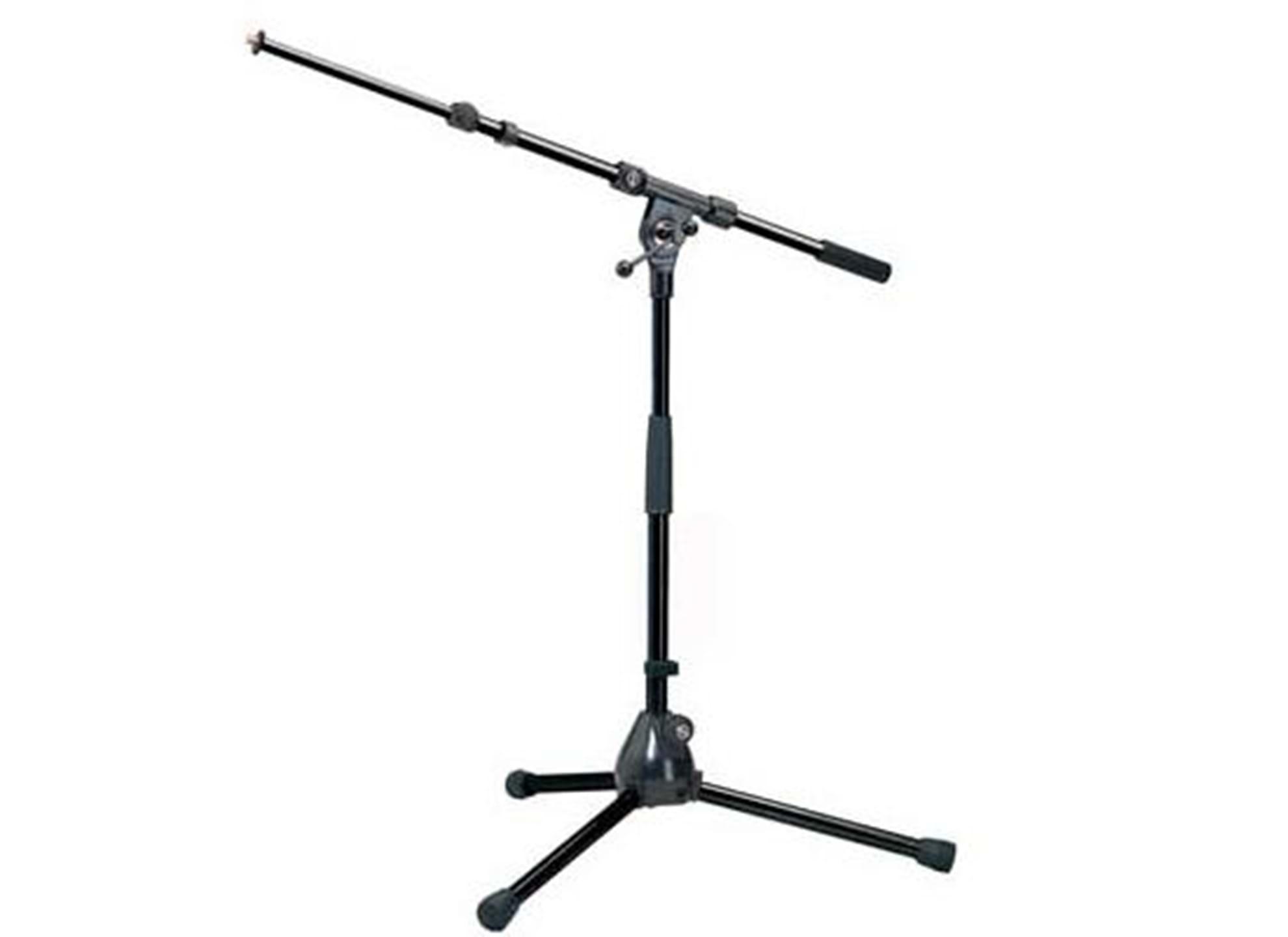 Lågt Mikrofonstativ med 2-delad bom 259B