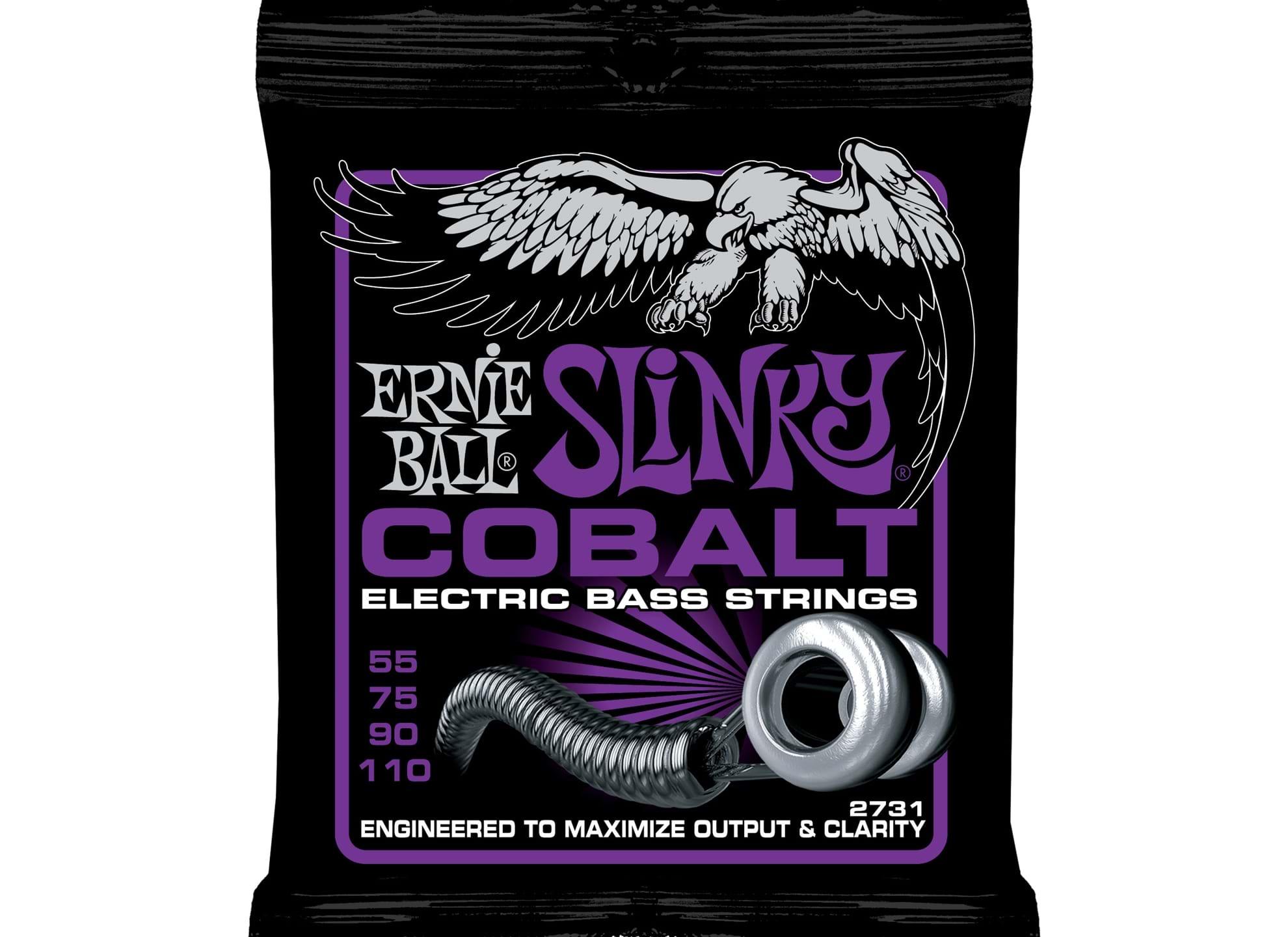 055-110 Power Slinky Bass Cobalt 2731