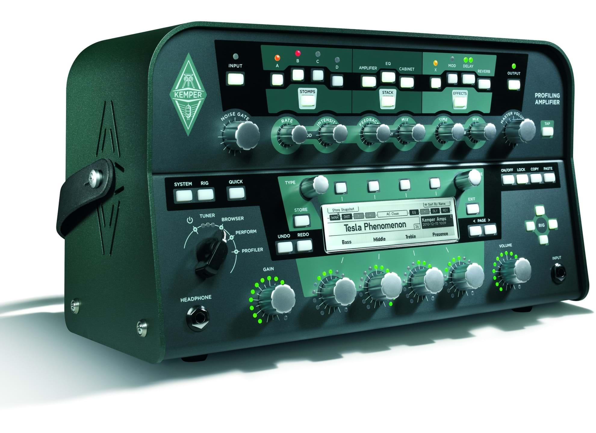 Profiling Amplifier - Svart