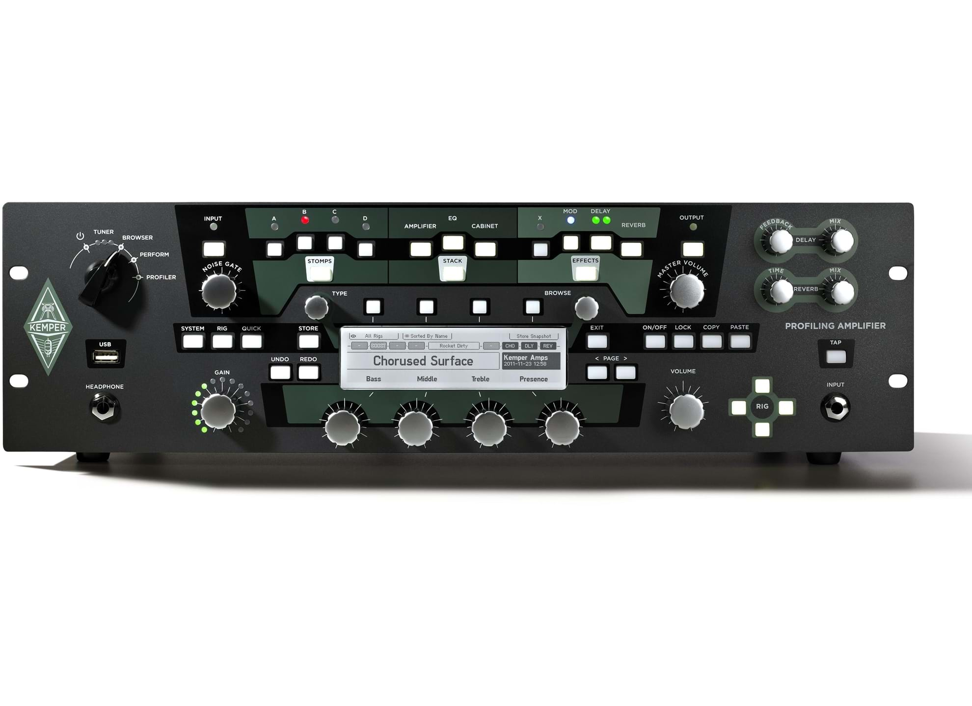 Kemper Profiling Amplifier Powerrack P 229 Emusic Se