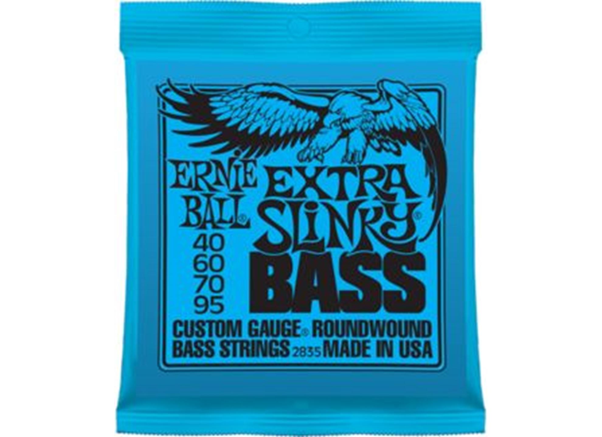 040-095 Extra Slinky Bass Nickel 2835