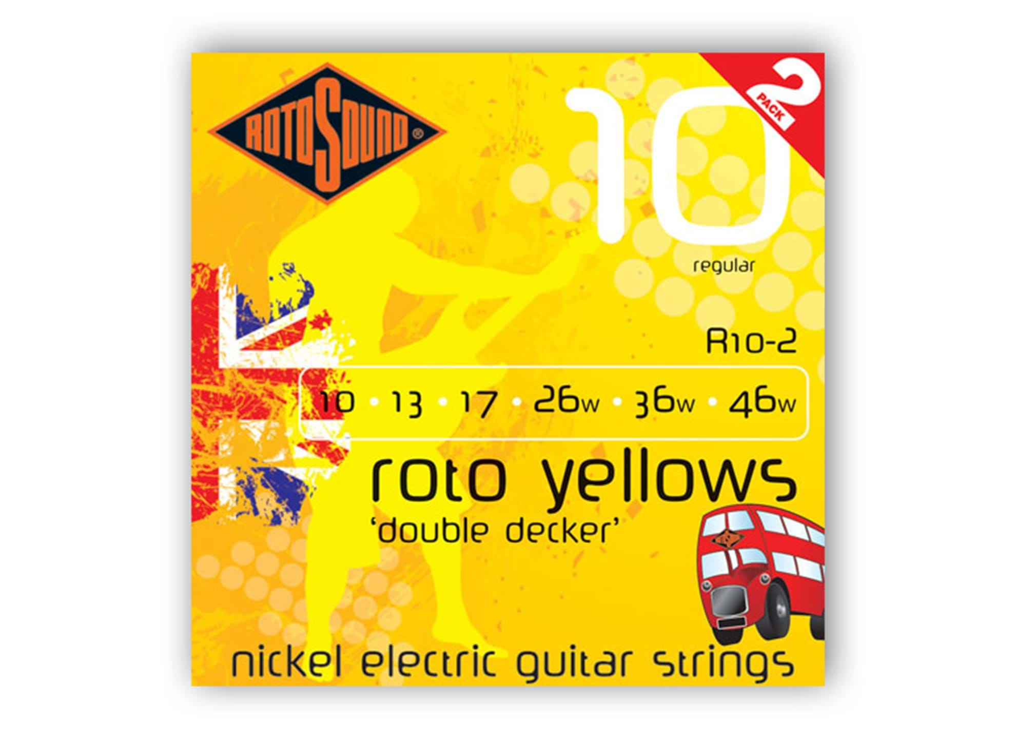 Roto Yellow Double Decker 2-pack, 10.46