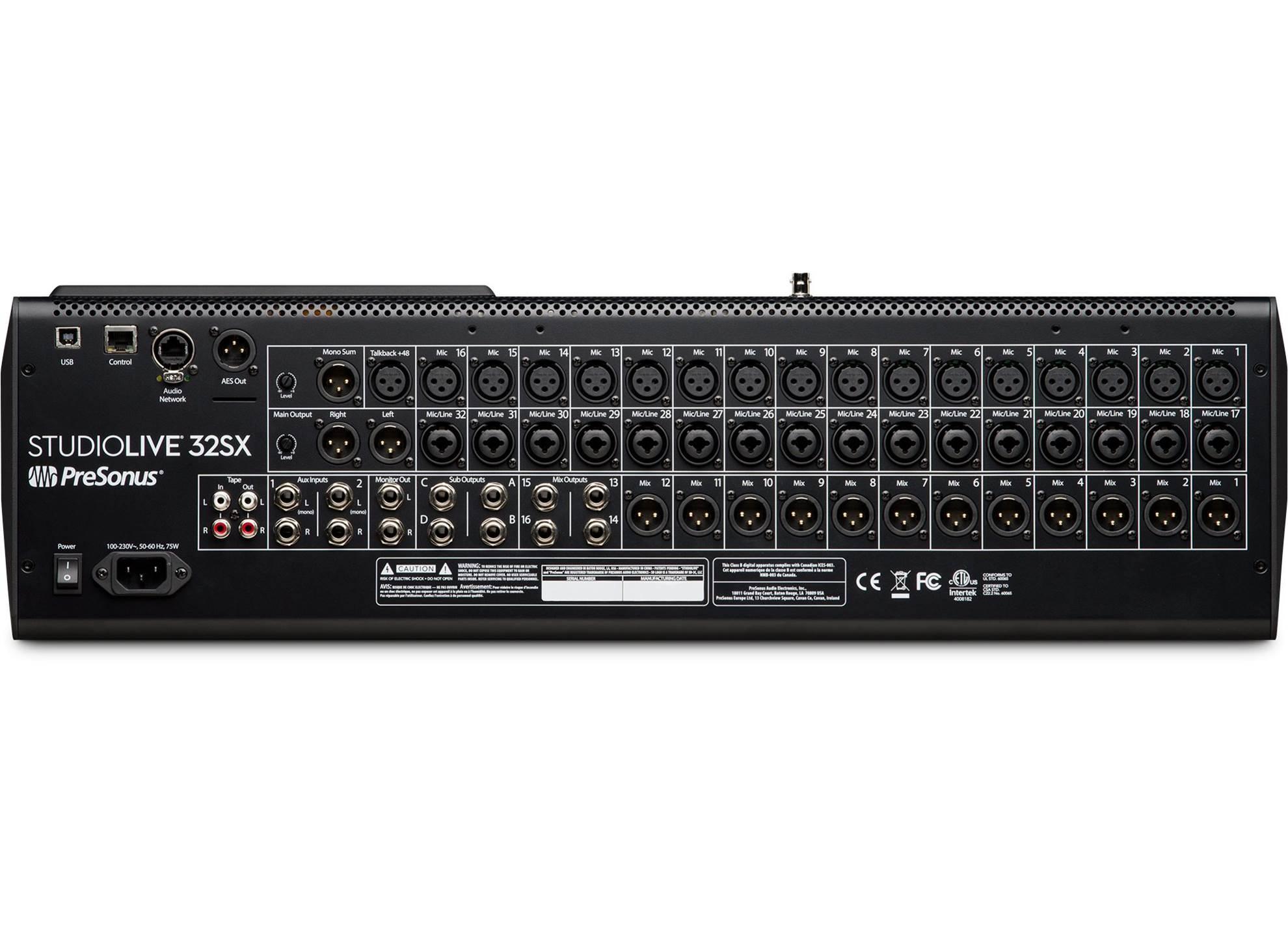 StudioLive 32SX