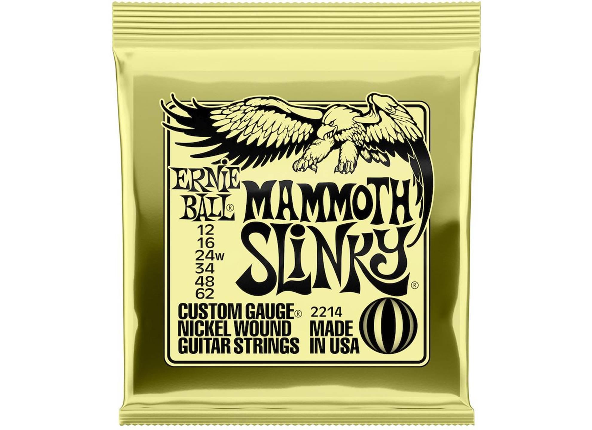 2214 Mammoth Slinky Nickel 12-62