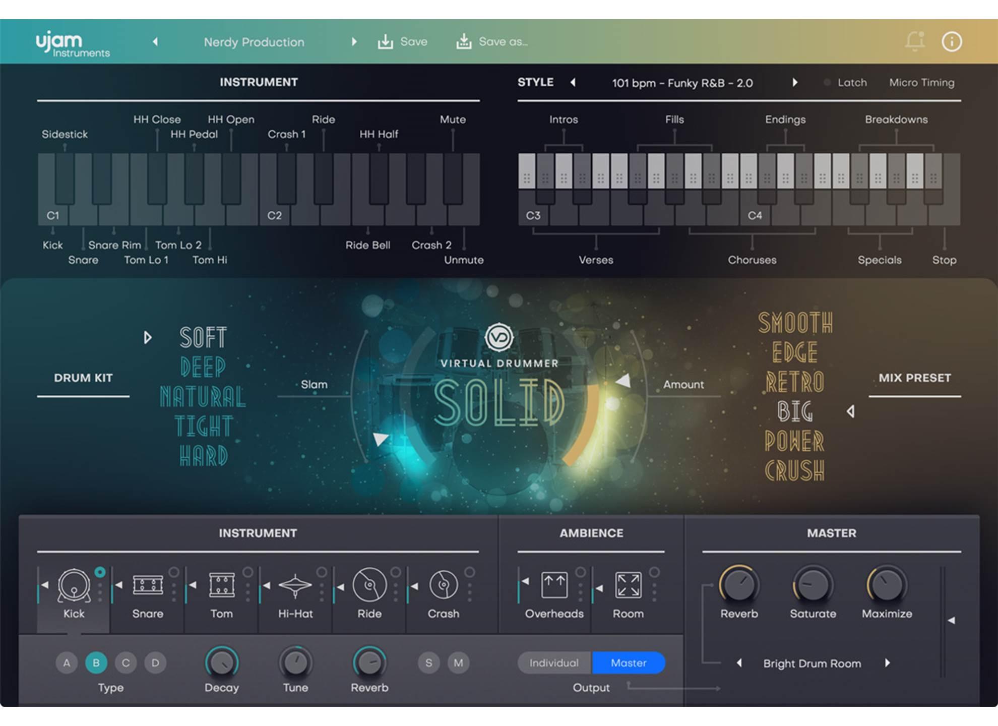Virtual Drummer Solid 2