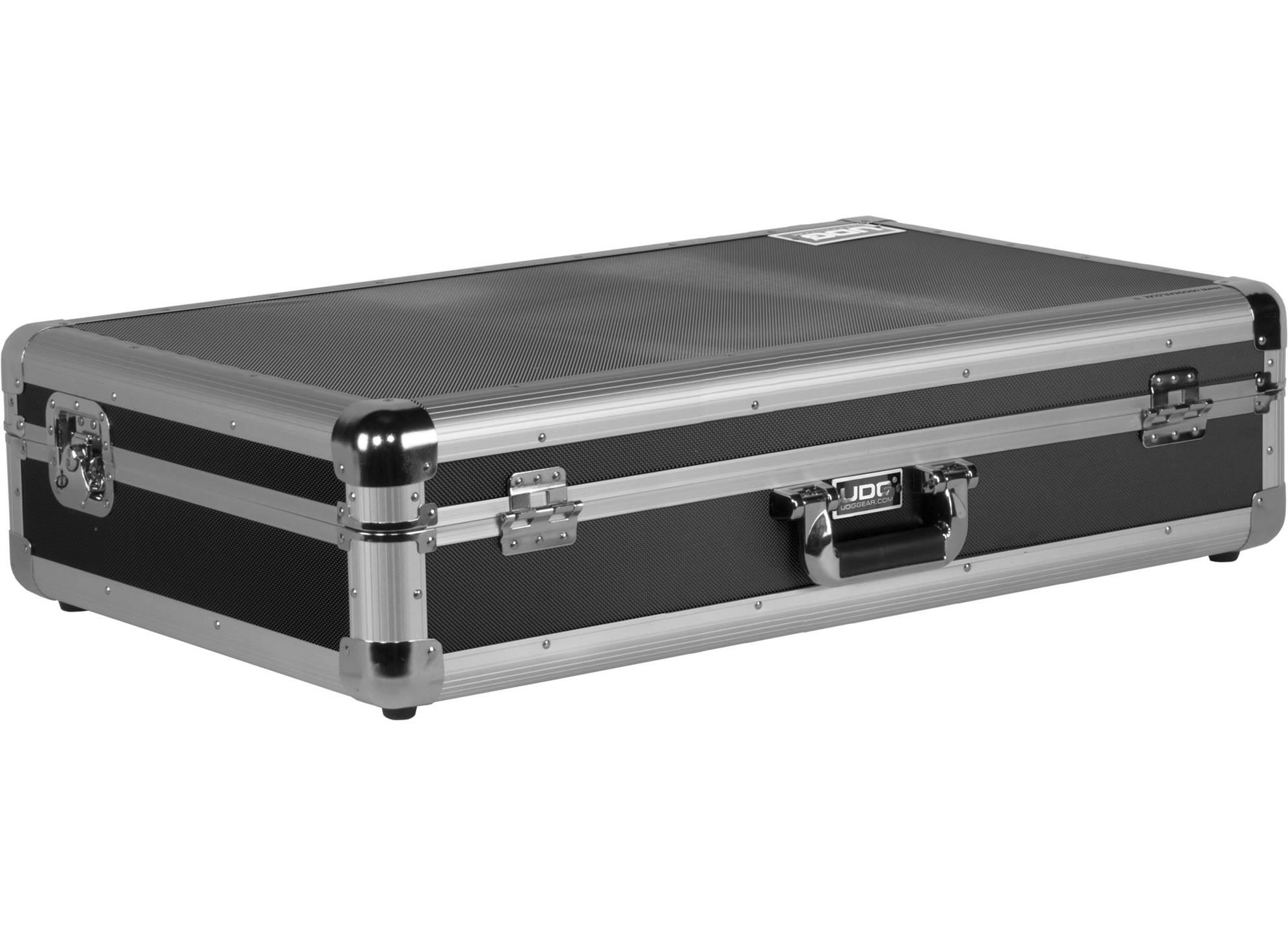Ultimate Pick Foam Flightcase Multi Format 2XL Silver