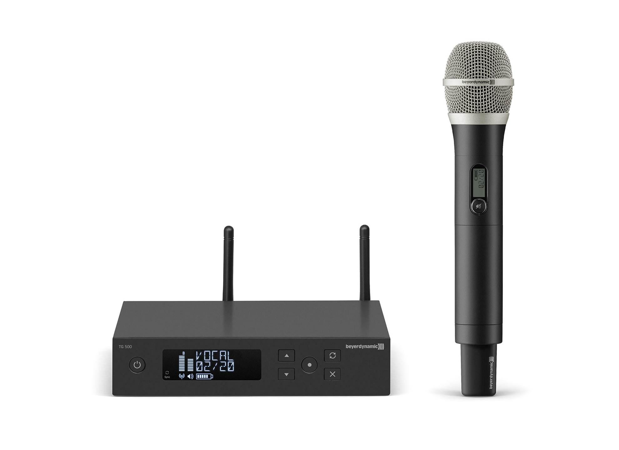 TG 550 Vocal Set 606-636 MHz