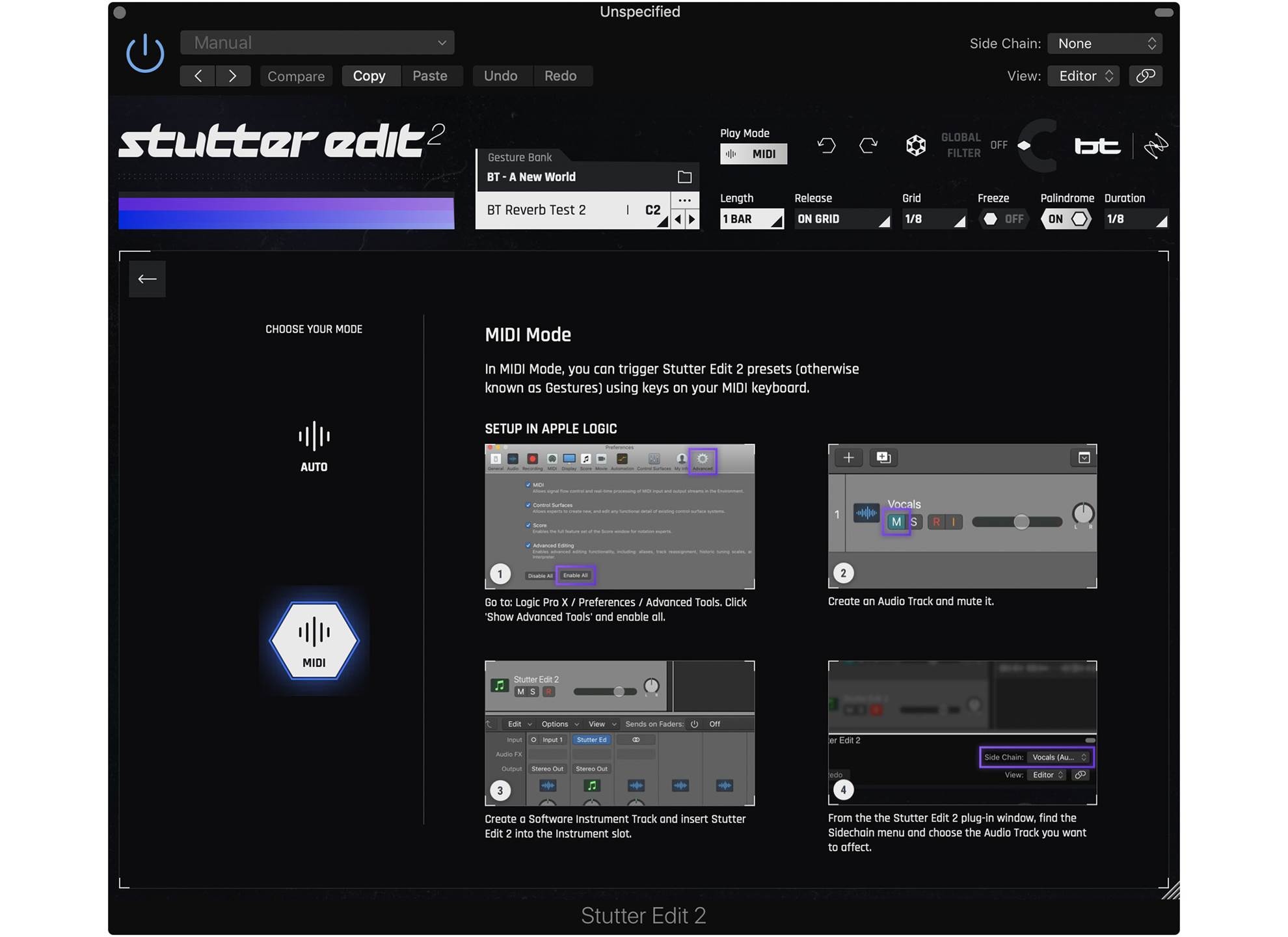 Stutter Edit 2 Crossgrade