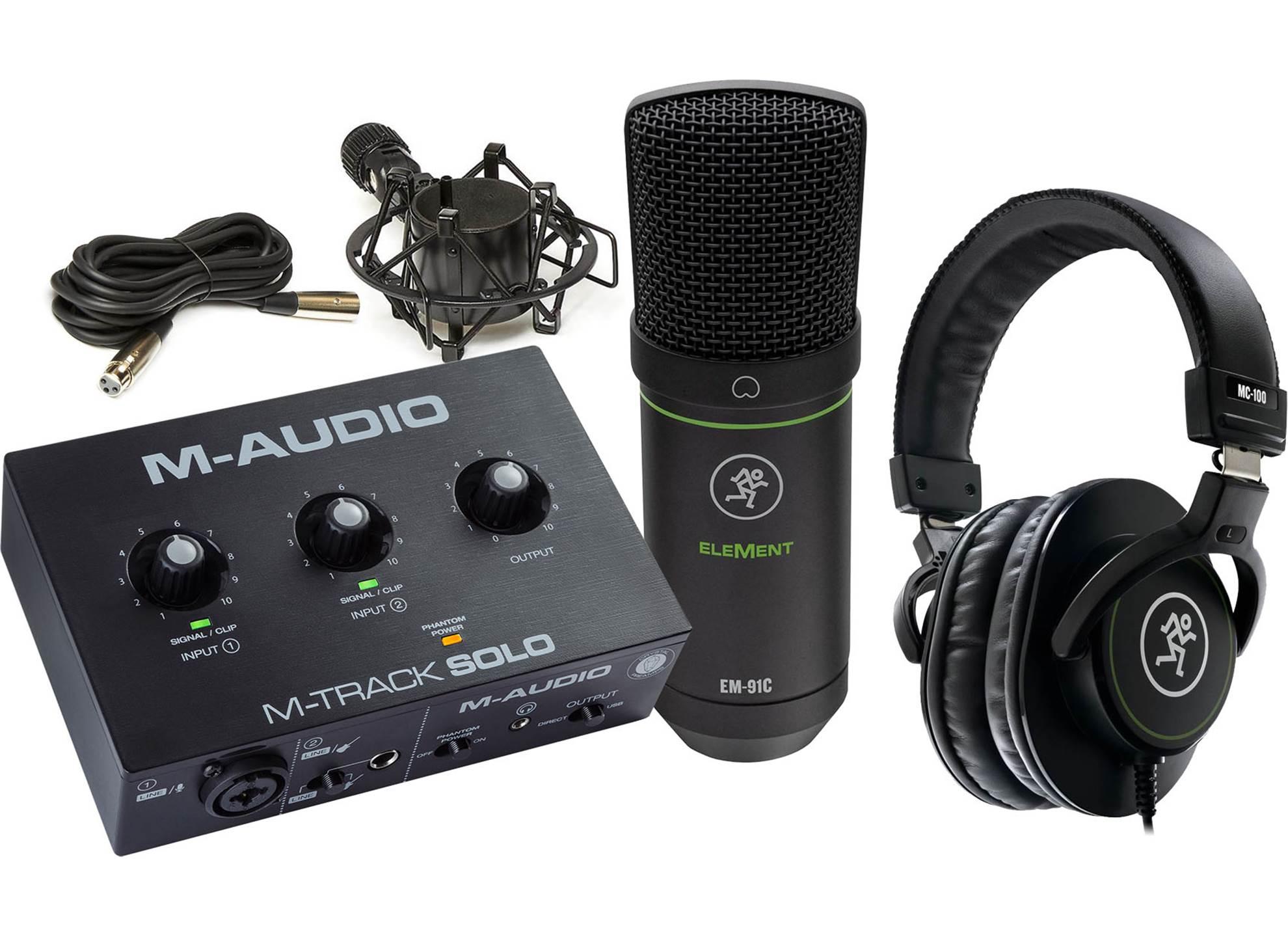 Starter Recording Kit Solo