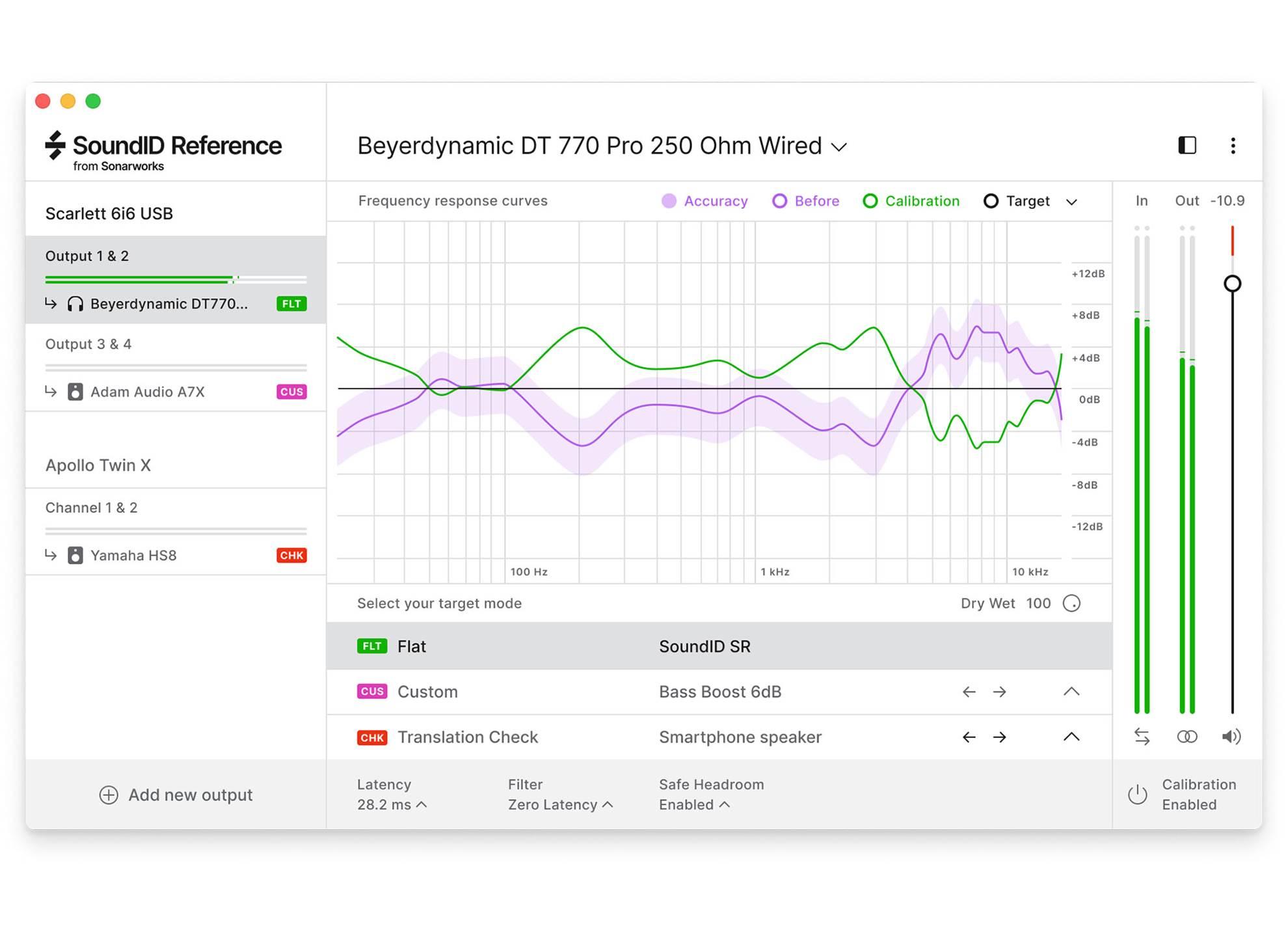 SoundID Reference Speakers And Headphones plus Measurement Mic