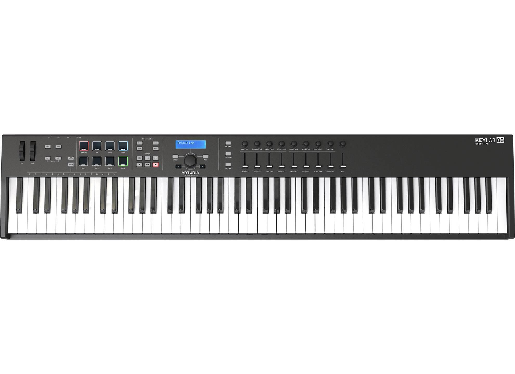 KeyLab 88 Essential Black Limited Edition