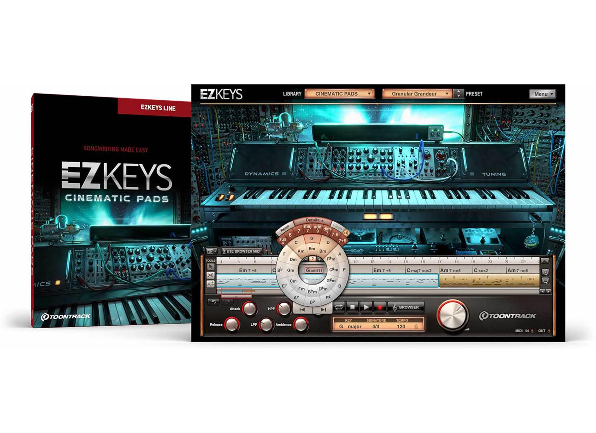 EZkeys Cinematic Pads