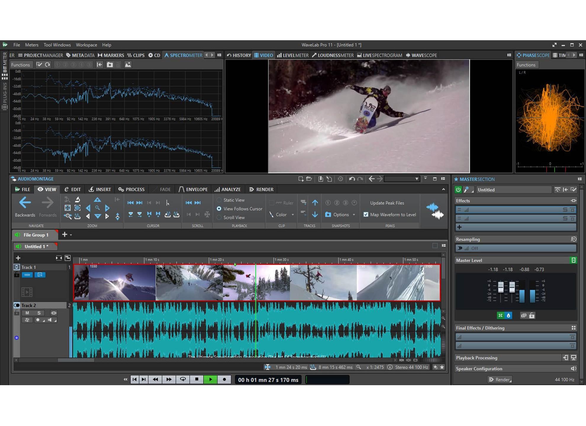 WaveLab Pro 11 Education