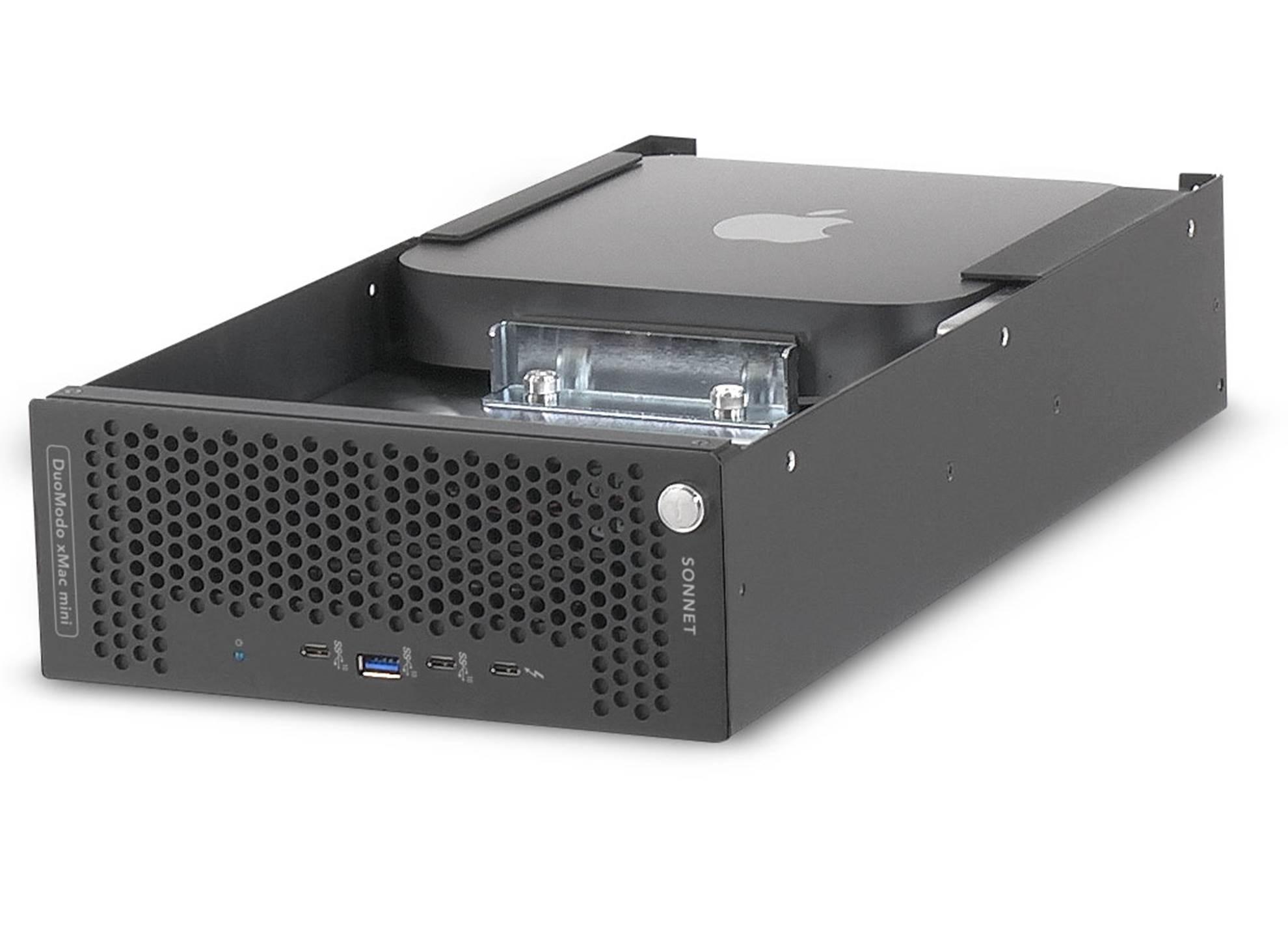 DuoModo xMac mini/eGPU Rack